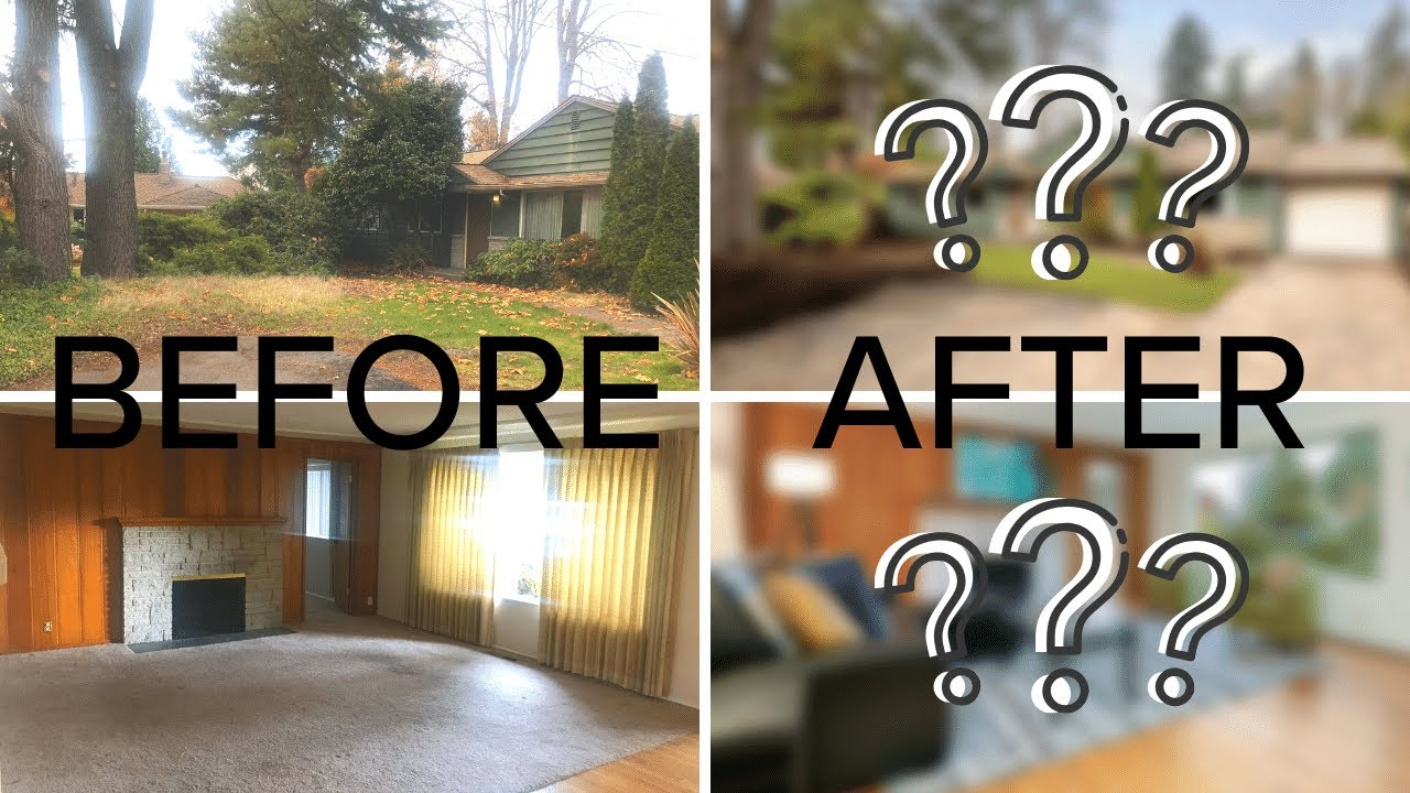 Seattle Home Transformation - Before & After