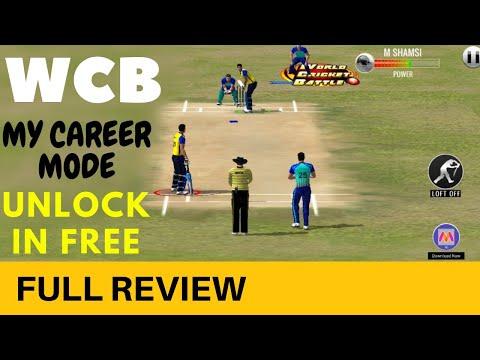 🔥 WCB Unlock my career mode in free | full review !!