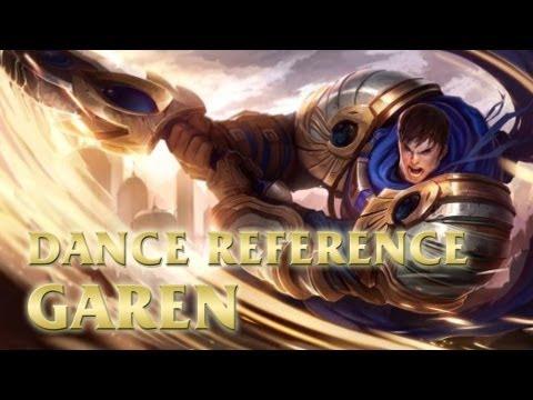 Garen - Johhny Bravos The Monkey - League of Legends LoL Dance