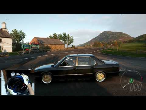 Forza Horizon 4 BMW M5 Forza Edition 1988 Thrustmaster T150 Pro