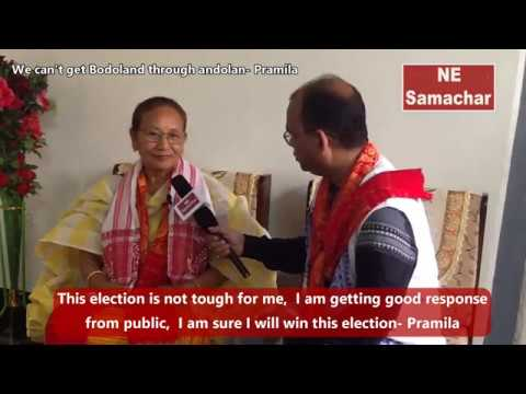 We can't get Bodoland through andolan says Pramila Rani Brahma