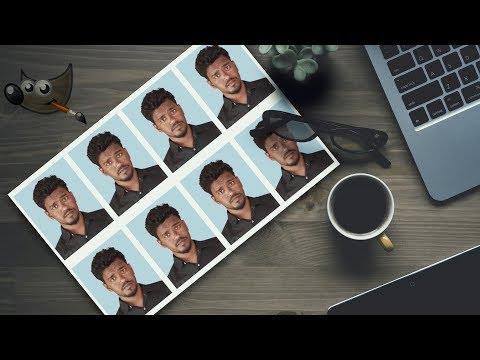 Create Passport Size Photo In Free Software (GIMP) | #105 | Photoshop Alternative