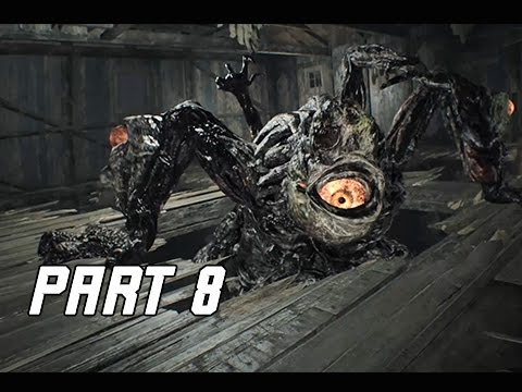 Resident Evil 7 Biohazard Walkthrough Part 8 - Boss Mutated Jack (RE7 Let's Play Commentary)