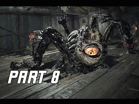 Resident Evil 7 Biohazard Walkthrough Part 8 Boss Mutated Jack