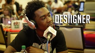 Desiigner on Working w/Pusha T, Kanye Being a Big Bro + Kevin Hart