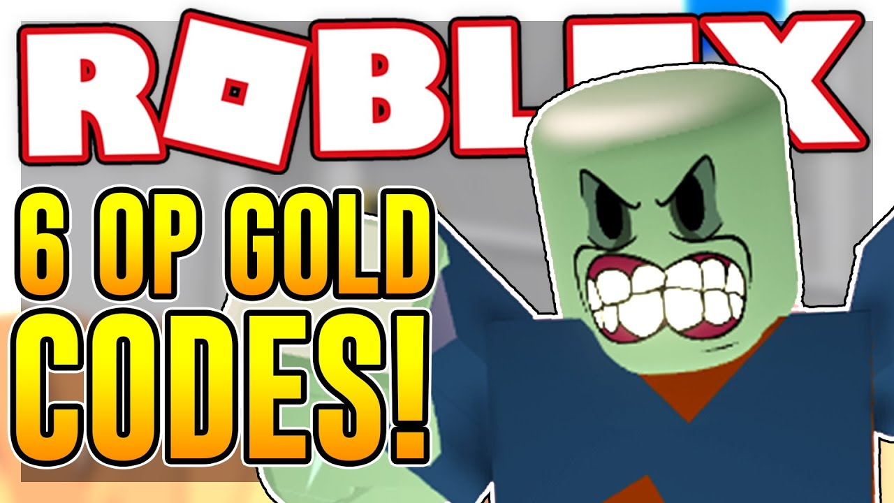 Six Op Gold Codes In Zombie Strike Roblox Youtube