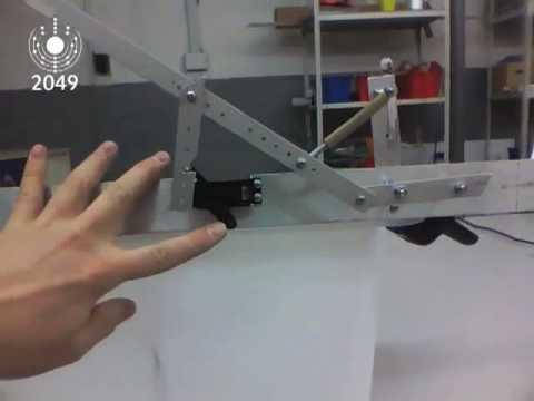 ЦЕХ-2049: Устройство подсечки для роботарыбака, вариант 2 - YouTube