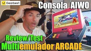Consola AIWO G1000 Alucinante RETRO Arcade - Review/Test