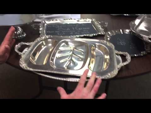 How to look at silver flatware in thrift store to see if it is silver!!!!