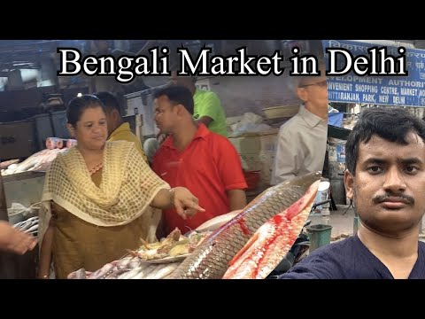 Bengali Market In Delhi | CR PARK MARKET DELHI | Bengali Street Food In Delhi | Mr Roaming | Vlog#83