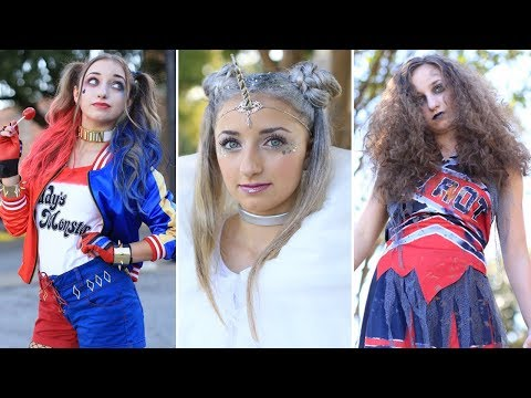 3-easy-halloween-hairstyles-|-diy-hairstyles-compilation-2019