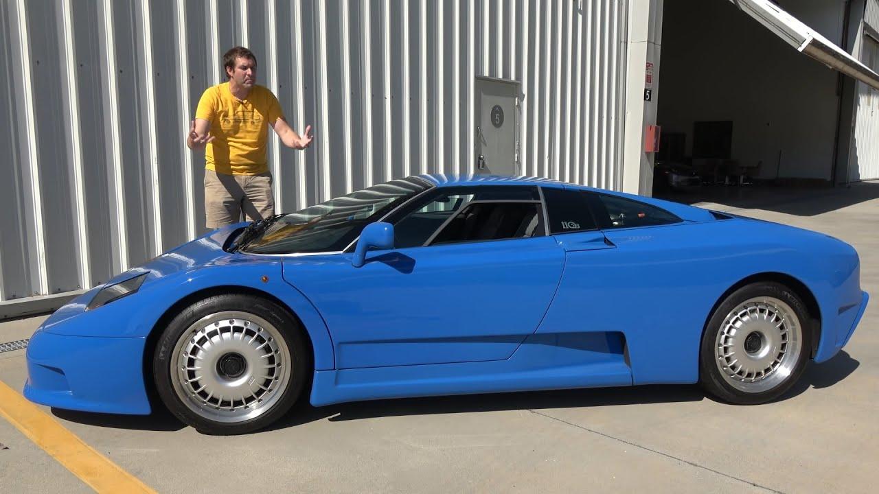Download Bugatti EB110 - это ультра-редкий, ультра-причудливый Bugatti из 90'х