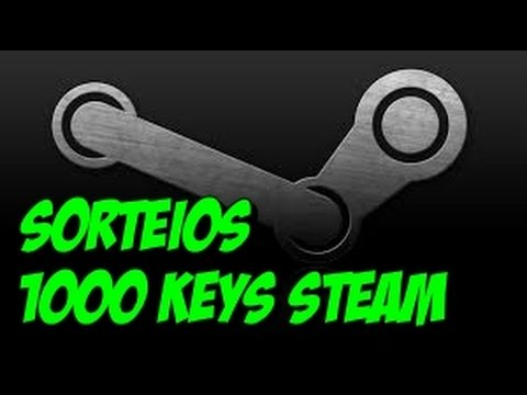 Sorteios: 1000 KEYS STEAM