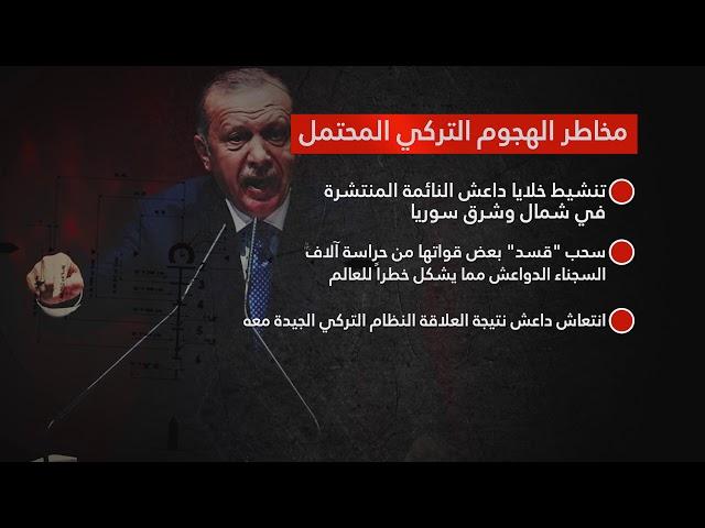 مخاطر الهجوم التركي المحتمل على شمال وشرق سوريا