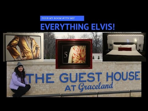 THE GUEST HOUSE AT GRACELAND--A tour of my Room!