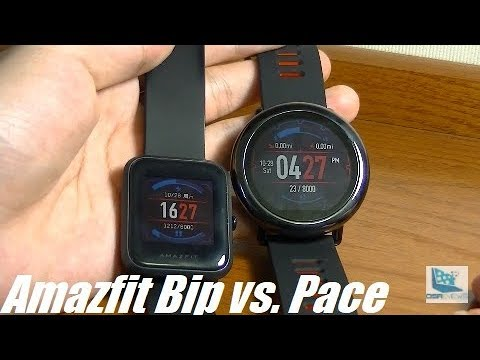 Xiaomi huami amazfit pace unboxing and early review doovi for Bip camera it