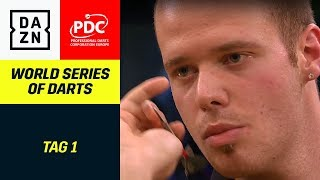 Max Hopp am Start bei der World Series | World Series of Darts | Tag 1 | PDC | DAZN
