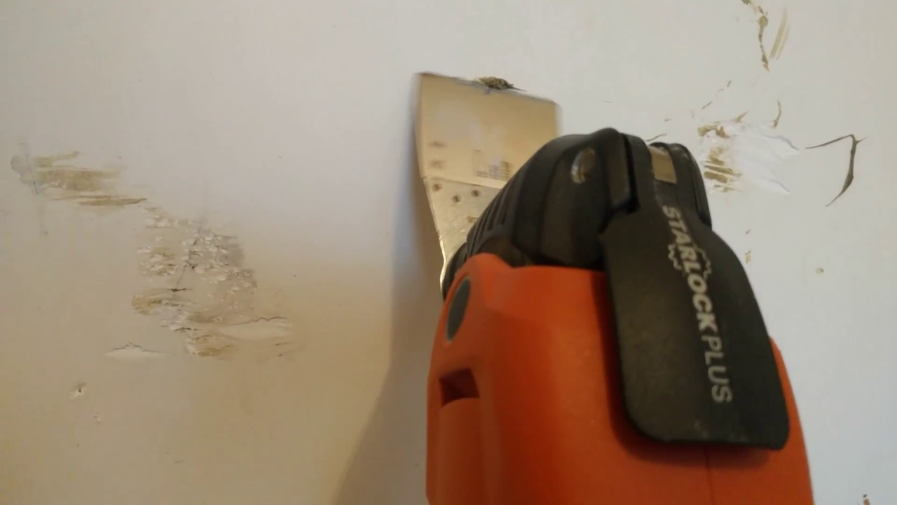 How to remove wallpaper paste from sheetrock - Removing Glue From Plaster Walls W Fein Multimaster