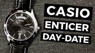 CASIO ENTICER DAY-DATE MTP-1381L – recenzja zegarka | TikTalk odc. 53