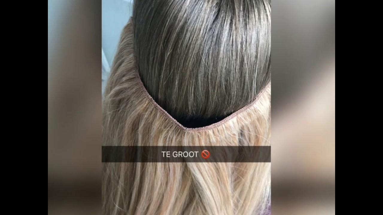 Wire Hair | Flip In op maat maken, zo doe je dat:) - YouTube