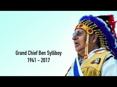 Funeral for Grand Chief Ben Sylliboy
