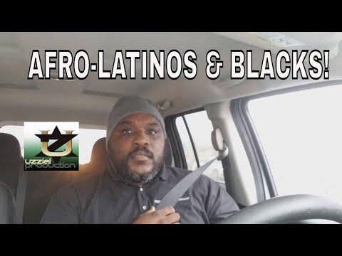 Afro-latinos vs. Being BLACK!
