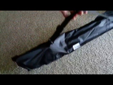Unboxing Folding Music Note Stand w/Carrying Case for Violin, Trumpet, Flute, Saxphone, and etc.