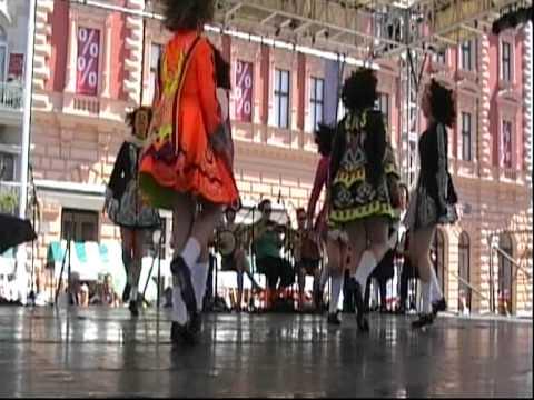"""Dance Group""""Bru na Boinne"""",Drogheda and Balbriggan,Ireland(part 1)"""