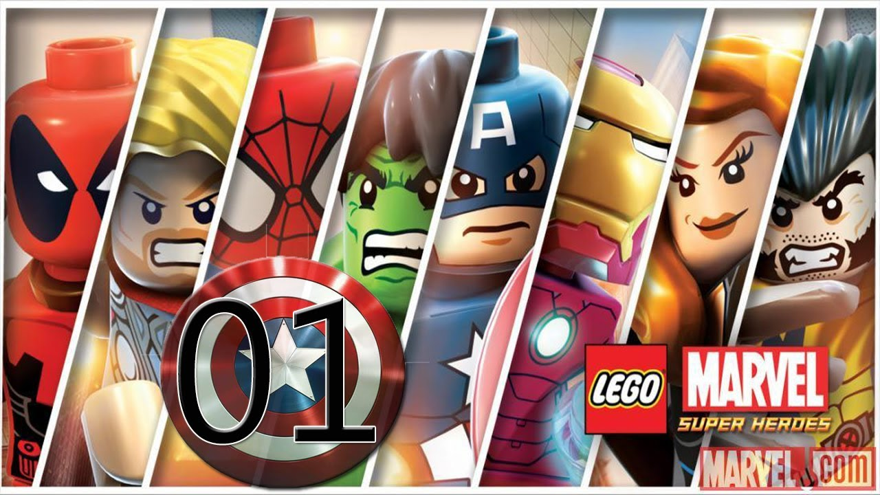 LEGO Marvel Super Heroes detonado PC - parte 1 Estação Central de ...