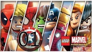 LEGO Marvel Super Heroes detonado PC - parte 1 Estação Central de Areia