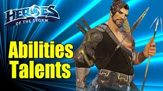 HANZO Guide of Abilities and Talents!! First look at Heroes of the Storm Newest Hero! HOTS Hanzo