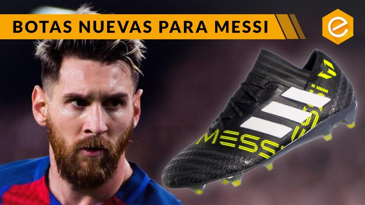 NUEVAS ARMAS PARA LEO MESSI adidas Nemeziz Messi