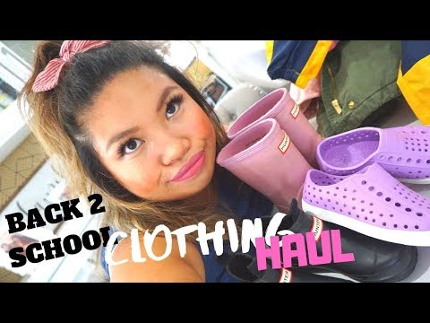 BACK TO SCHOOL CLOTHING HAUL#TODDLEREDITION