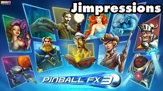 Pinball FX3 - TIE Fighters And Ball Jugglers (Jimpressions) (Video Game Video Review)