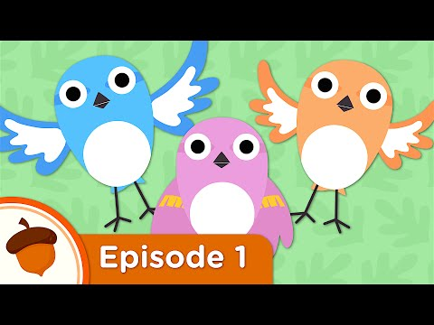 Cartoon | Hello Baby Sparrows | Treetop Family Ep.1 | Cartoon for kids