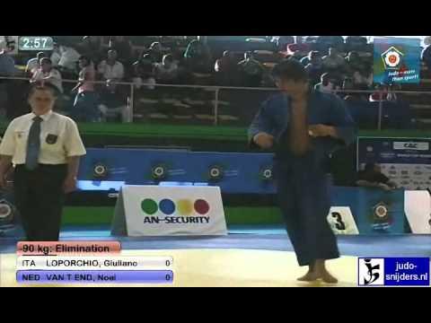 Giuliano Loporchio (ITA) - Noel van t End (NED) [-90kg]