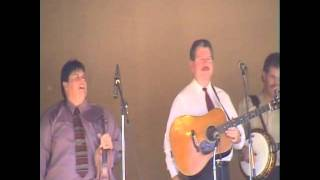 Dr. Ralph Stanley and Clinch Mountain Boys(3) at Milan Bluegrass Festival, August 2000