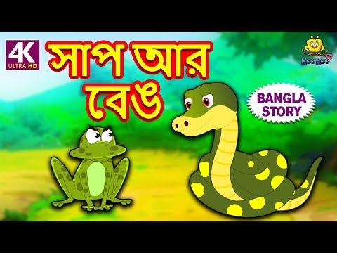 সাপ আর বেঙ - Snake and Frog | Rupkothar Golpo | Bangla Cartoon | Bengali Fairy Tales | Koo Koo TV thumbnail