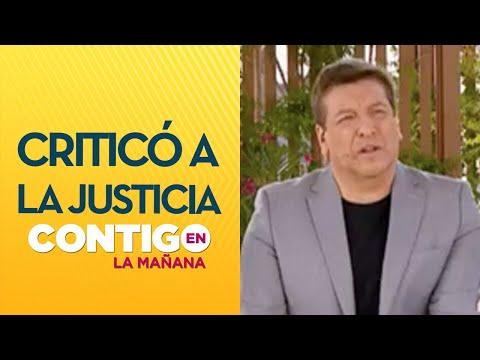 """""""Hacen lo que quieren"""": JC Rodríguez mostró indignación ante el caso de Roberto Belmar"""
