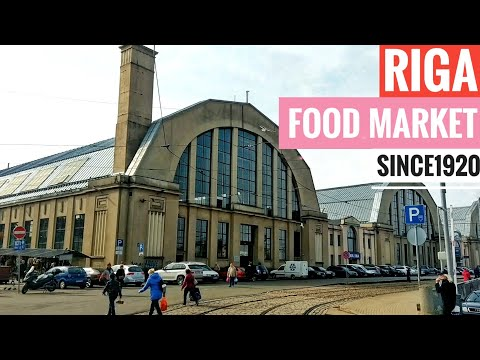 Riga central market since 1920 - Zentralmarkt - food sightseeing