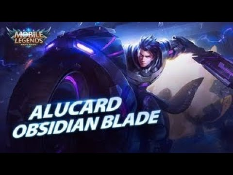NEW LEGEND SKIN OBSIDIAN BLADE ALUCARD BEST BUILD GAMEPLAY - MOBILE LEGEND BANG BANG thumbnail