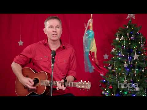 Colin Buchanan sings Christ the King of Christmas at Hope 103.2 - [Music Video]