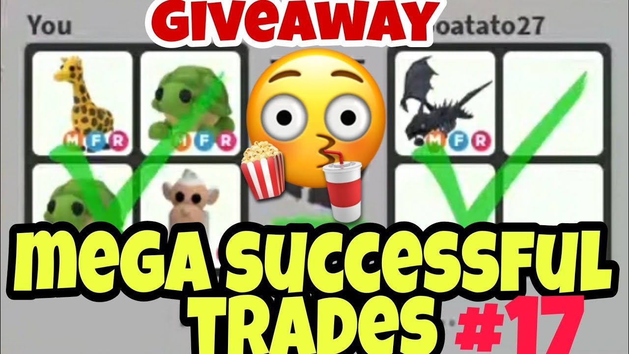 Adopt Me Successful  Trades Proofs #17 For Mega Neon Pets
