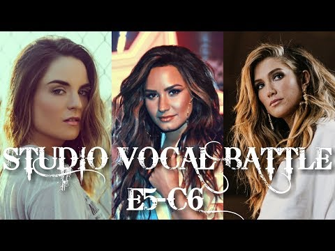 Studio Vocal Battle [E5-A5, A5-C6] || Kelly, Tori, Demi, Jojo, Delta & Leona (HD)