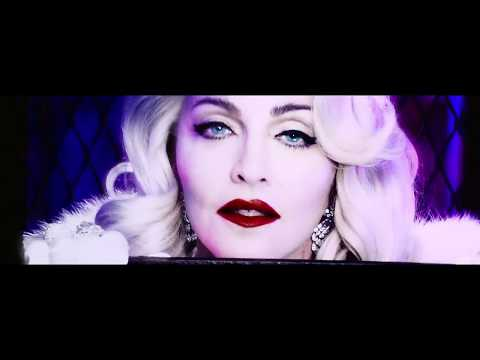 Madonna Iconic Official Backdrop Video from Rebel Heart Tour