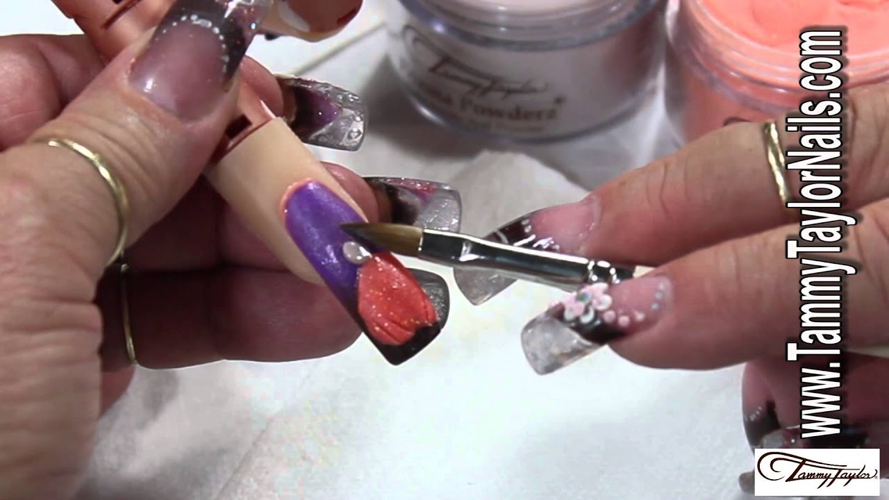 ♡ Tammy Taylor: Nail Art Design:Pumpkin Mania - YouTube