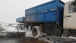 Автопоезд- ГАЗ 3307