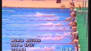 1988 Seoul Olympics - Mens 400m freestyle relay - Chris Jacobs