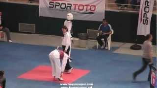 54kg Omer Ramazan Evez - Samet  Gumusel  (2012 Turkish Taekwondo Championships Under -21)