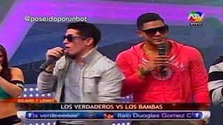 COMBATE: Dyland y Lenny - Los Verdaderos vs los Bambas 03/07/13